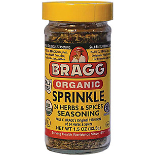 Braggs organic sprinkle seasoning