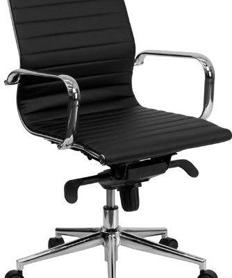 Chiropractic Mid Back Ribbed Chair