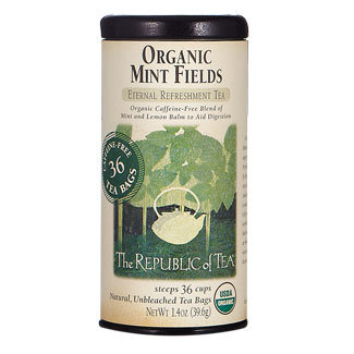 Republic of Tea Organic Mint Fields Tea Bags