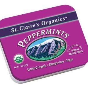 St. Claire's Organic Peppermints