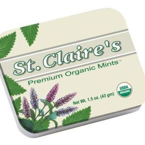 St. Claire's Premium Organic Breath Mints
