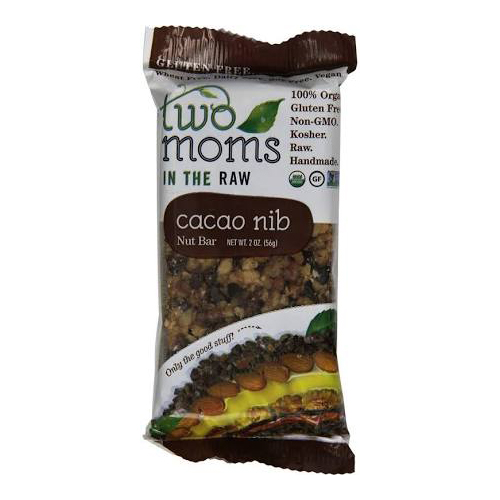 Two Moms In The Raw Cacao Nib Nut Bar
