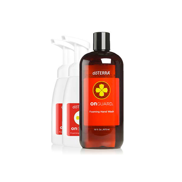 doTERRA On Guard Foaming Hand Wash with 2 Dispensers