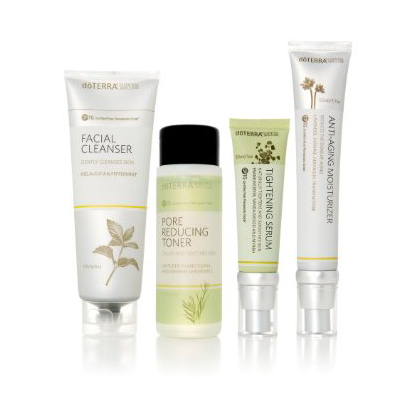 Skin Care System with Anti-Aging Moisturizer