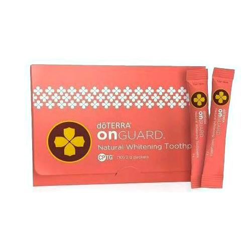 Dōterra On Guard Toothpaste Sample 10 Pack Well Of Life
