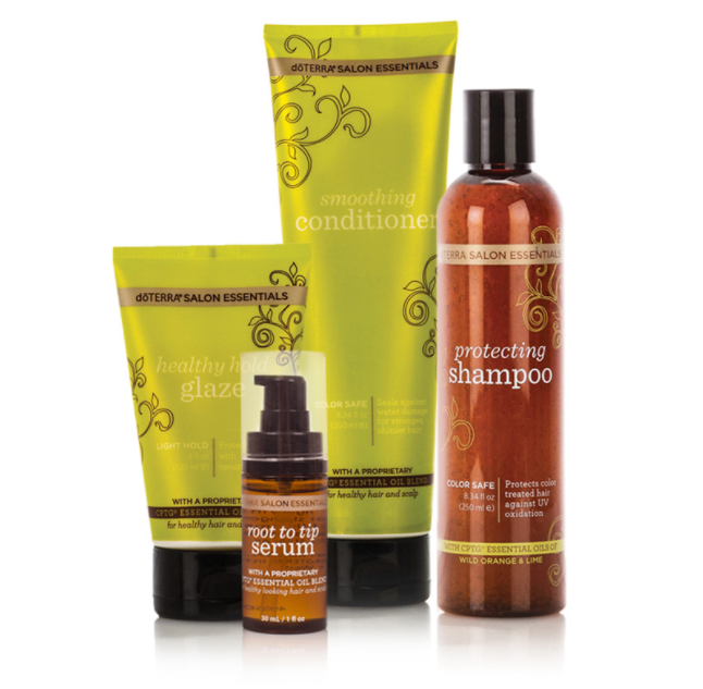 D terra salon essentials hair care system well of life for Hair salon perfect first essential