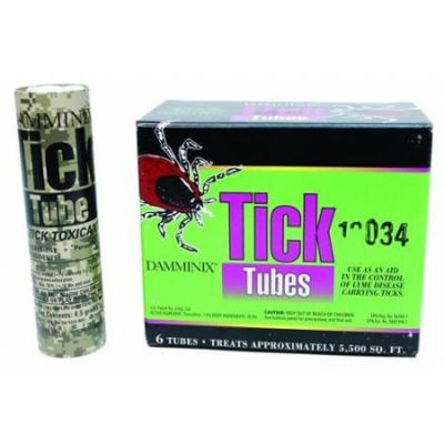 Tick Tube Tick repellent system