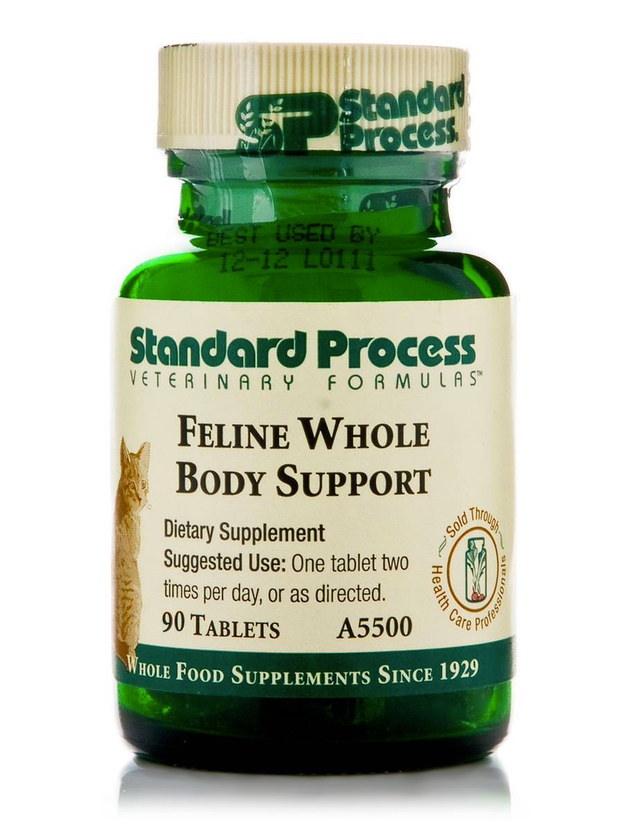 Standard Process Feline Whole Body Support 90c Well Of