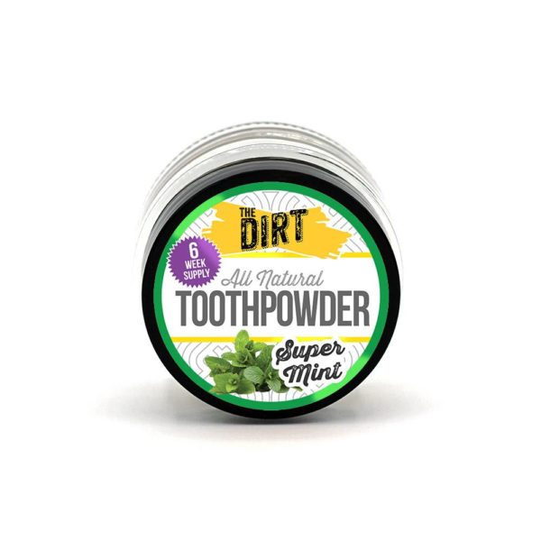 super mint tooth brushing powder trial