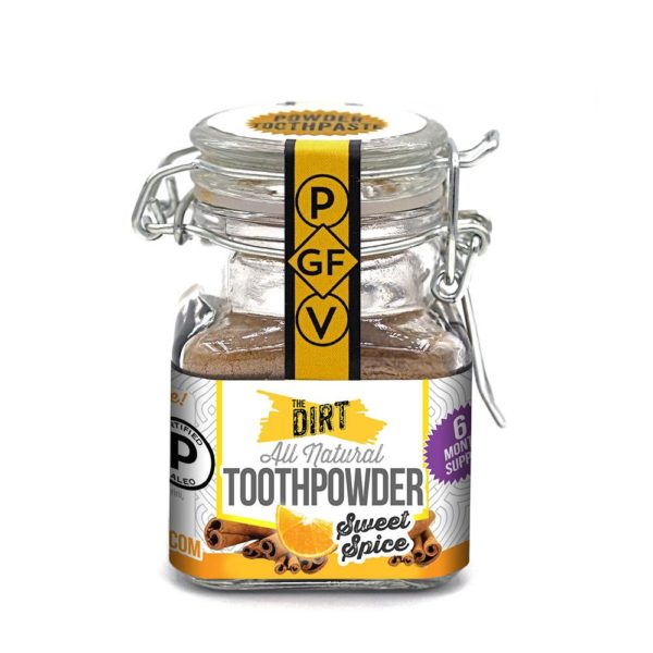 sweet spice tooth brushing powder