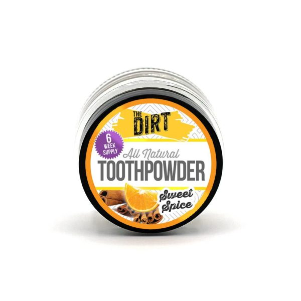 sweet spice tooth brushing powder trial