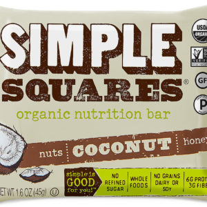 coconut simple squares