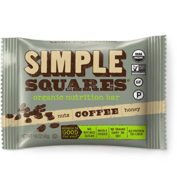 coffee simple squares