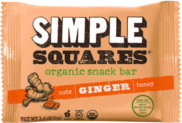 ginger simple squares