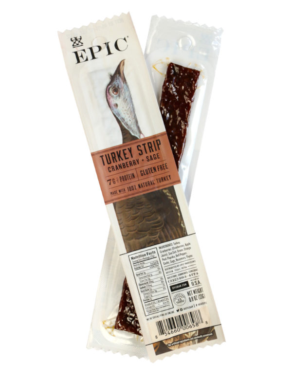 epic turkey snack strip